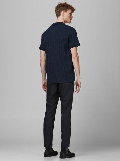 Polo Shirt Man Navy Blue Jack & Jones