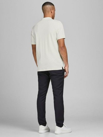Polo Shirt Man Cream Jack & Jones