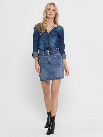 Skirt Woman Jeans Only