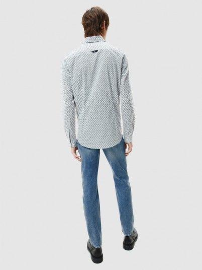 Camisa Homem Logo Calvin Klein