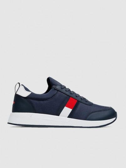 Tenis Homme Bleu Marine Tommy Jeans
