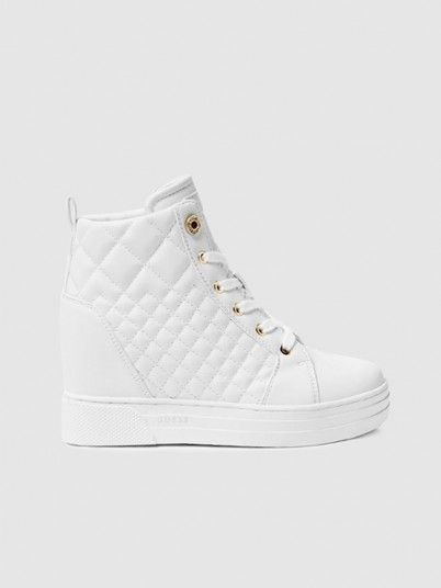 Boots Woman White Guess