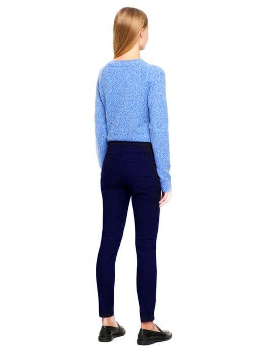 Pants Woman Navy Blue Vero Moda