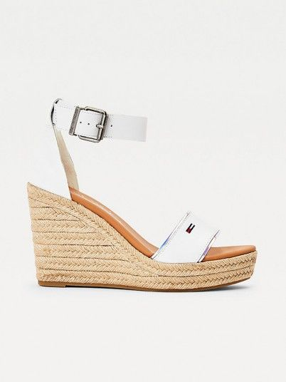 Sandals Woman White Tommy Jeans