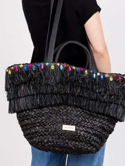 Handbag Woman Black Gioseppo