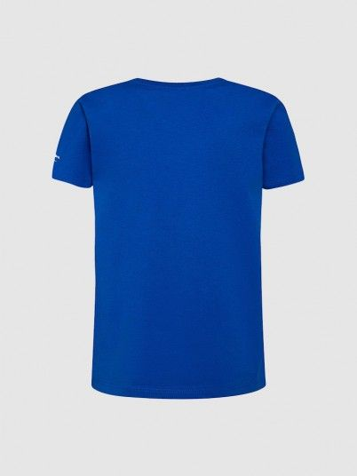 T-Shirt Boy Blue Pepe Jeans London