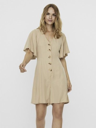 Overall Woman Beige Vero Moda