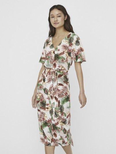 Dress Woman Multicolor Vero Moda