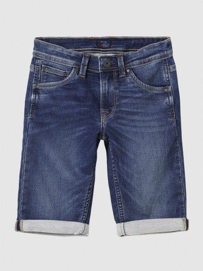 Calção Menino Cashed Pepe Jeans