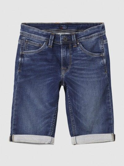 Shorts Boy Dark Jeans Pepe Jeans London
