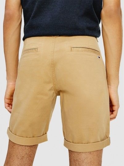 Shorts Man Beige Tommy Jeans