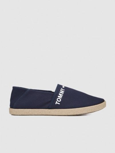 Shoes Man Navy Blue Tommy Jeans