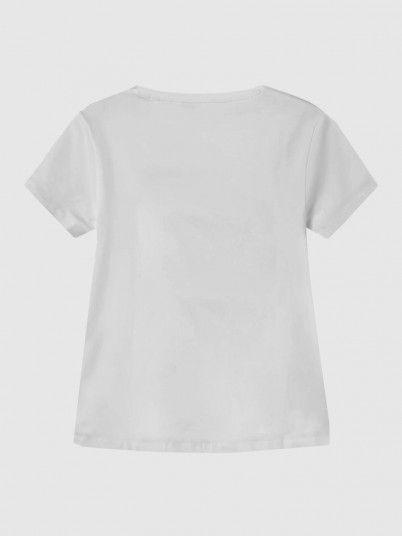 T-Shirt Fille Blanc Guess