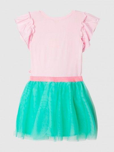 Vestido Menina Billie Blush