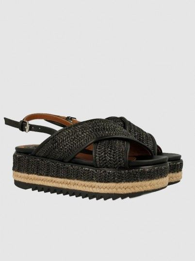 Sandals Woman Black Gioseppo