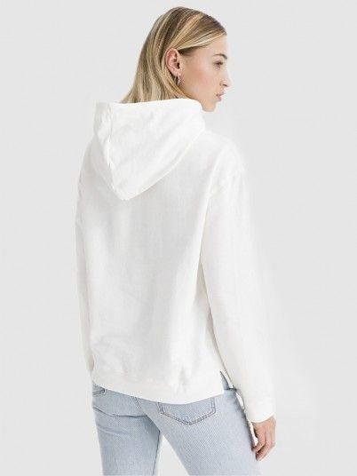 Sweatshirt Woman Cream Pepe Jeans London