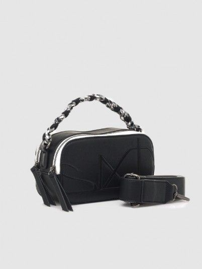 Handbag Woman Black Sixty Seven
