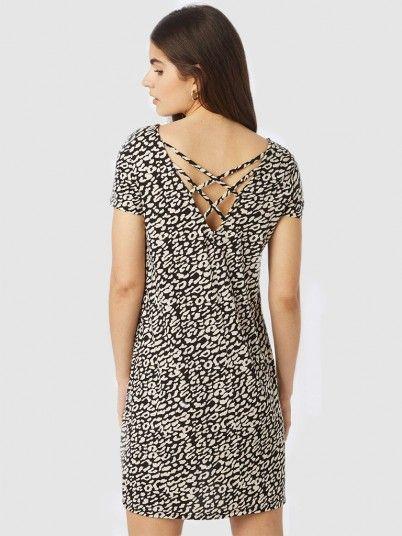 Dress Woman Animal Print Only