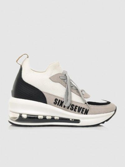 Sneakers Woman White Sixty Seven
