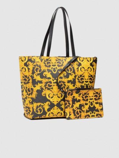Handbag Woman Yellow Versace