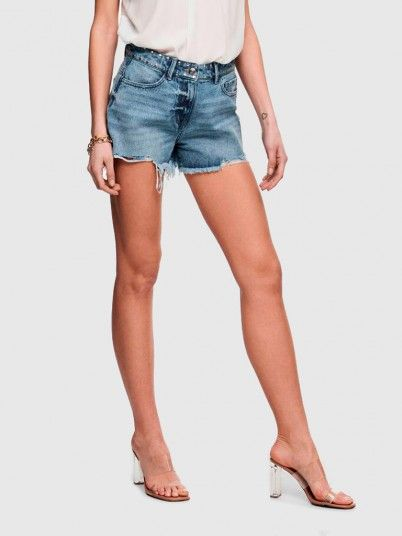 Shorts Woman Light Jeans Only