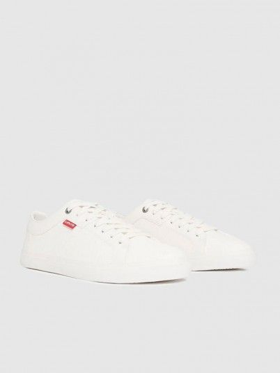 Sneakers Woman White Levis
