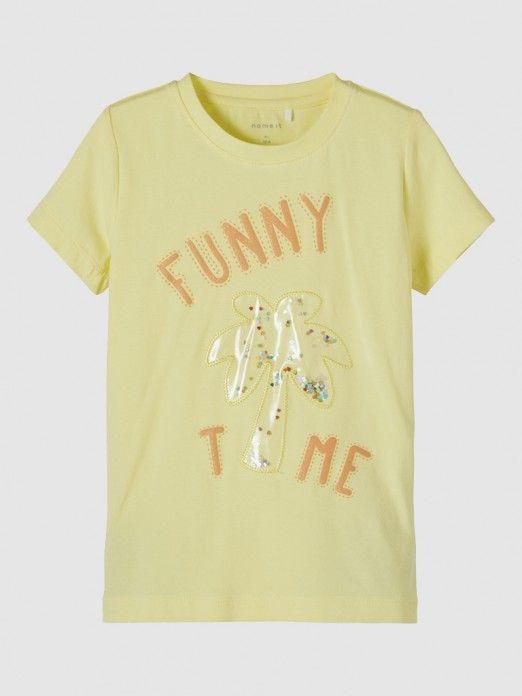 T-Shirt Menina Fefa Name It