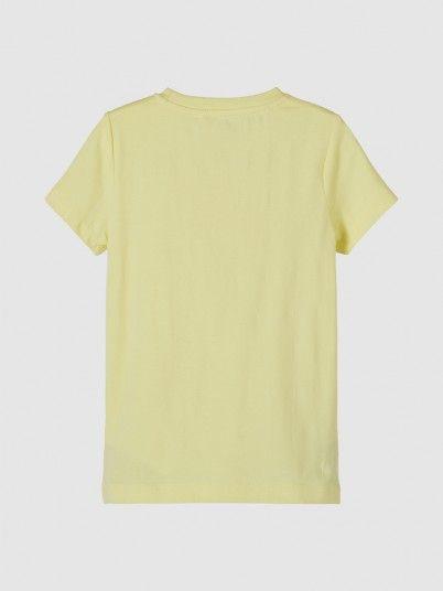 T-Shirt Girl Yellow Name It