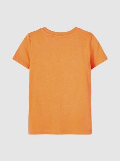 T-Shirt Boy Orange Name It