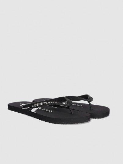 Flip Flops Woman Black Calvin Klein