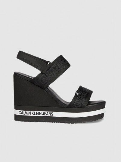Sandals Woman Black Calvin Klein