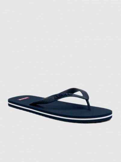 Flip Flops Man Navy Blue Levis