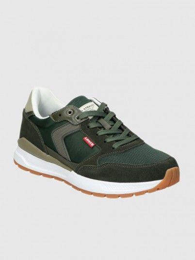 Sneakers Man Green Levis