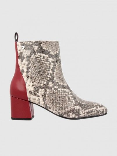 Boots Woman Animal Print Gioseppo