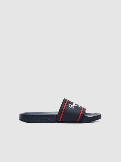 Flip Flops Man Navy Blue Tommy Jeans