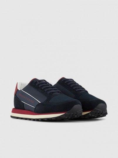 Sneakers Man Navy Blue Armani Exchange