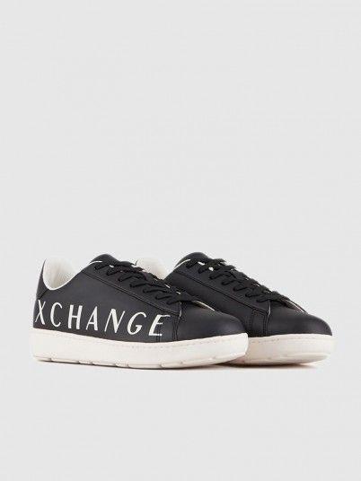 Sneakers Man Dark Blue Armani Exchange