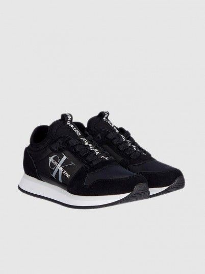 Sneakers Woman Black Calvin Klein