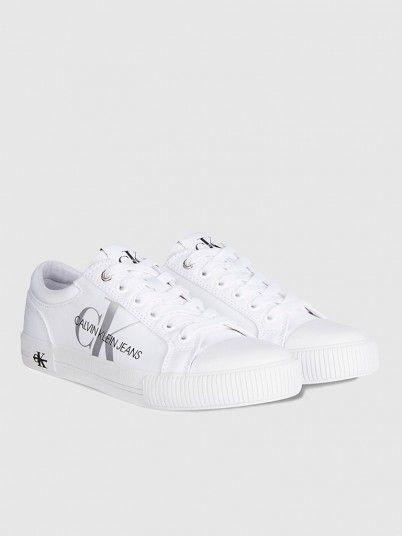 Sneakers Woman White Calvin Klein