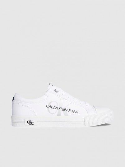 Sneakers Woman White Calvin Klein