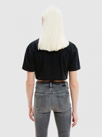 T-Shirt Mulher Hologram Calvin Klein