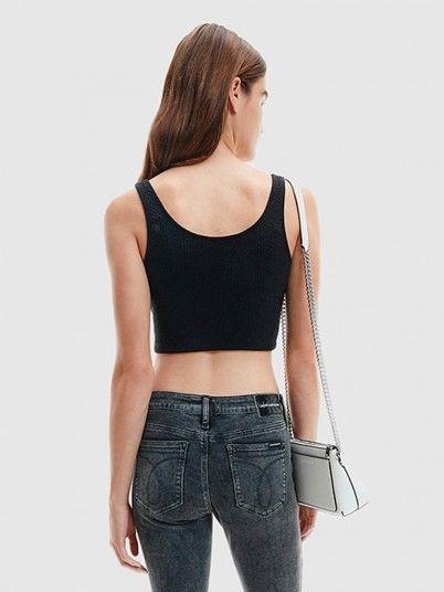 Shirt Woman Black Calvin Klein