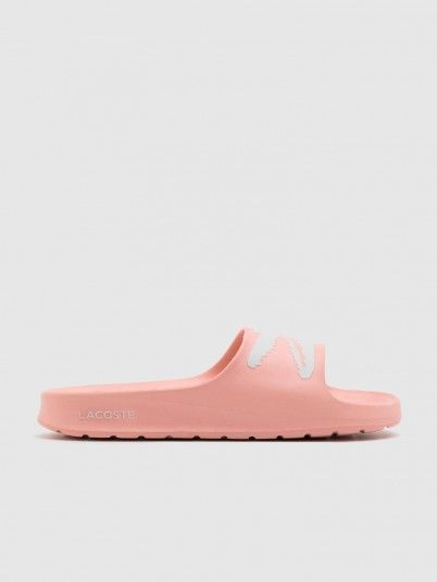 Chinelo Mulher Croco Lacoste
