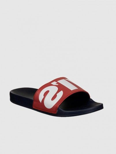 Flip Flops Man Red Levis