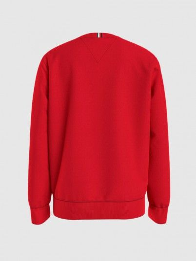 Sweatshirt Boy Red Tommy Jeans Kids