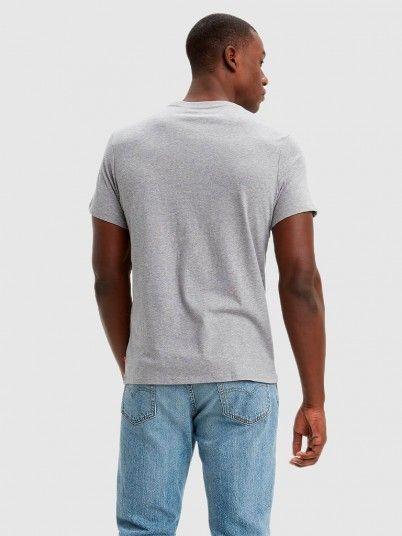 T-Shirt Woman Grey Levis