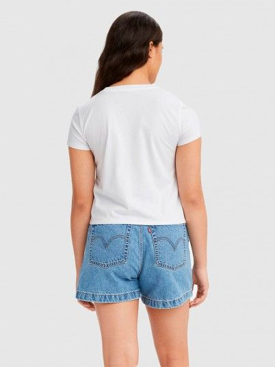 T-Shirt Woman White Levis