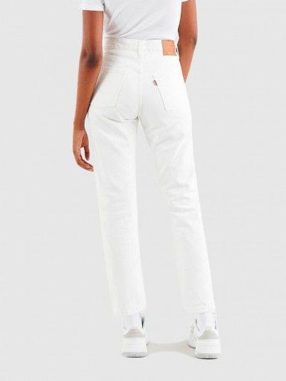 Pants Woman White Levis