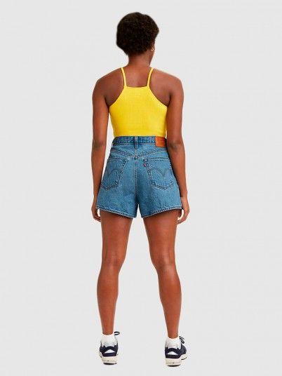 Shorts Woman Jeans Levis