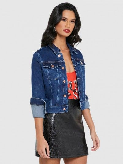 Jacket Woman Jeans Guess